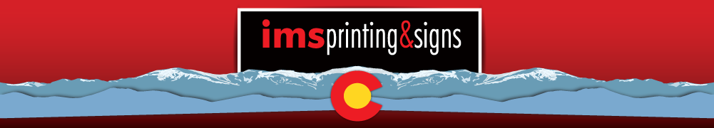 IMS Printing & Signs Logo